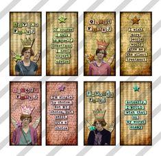Disenchanted Fairies. Digital collage sheet  1 X 2 inch  Domino by lisasalteredart, $2.00