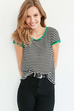 Project Social T Molly Ringer Tee - Urban Outfitters
