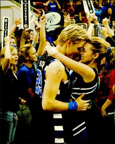 """When all of your dreams come true, who do you want standing next to you?""    ""It's you.  It's always been you."""