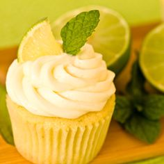 Mojito Cupcakes! I have made her irish car bomb cupcakes before and they turned out great! Can't wait to try these!