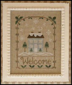 Winter Welcome - Country Cottage Needleworks