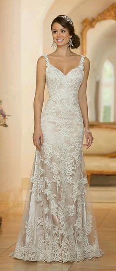 66 New Ideas Wedding Gowns Sophisticated Bride Stella York Stunning Wedding Dresses, Dream Wedding Dresses, Bridal Dresses, Beautiful Dresses, Wedding Gowns, Bridesmaid Dresses, Wedding Blog, Party Dresses, Wedding Wishes
