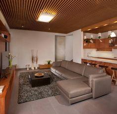 Casa Ming : Salones modernos de LGZ Taller de arquitectura