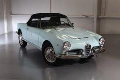 1965 Alfa Romeo Giulia Spider Veloce 1600