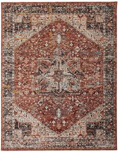 Weave & Wander Ennis Ornamental Area Rug #Sponsored , #ad, #Ennis#Wander#Weave Living Rugs, Area Rugs, Rug Sale, Cheap Wall Decor, Rugs, Abstract Rug, Ornate, Area Rugs For Sale, Red Rugs