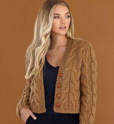 Knitting Patterns Cardigan Alpaka – we knit beautiful things. Chunky Knitting Patterns, Knitting Stitches, Knitting Designs, Knit Patterns, Baby Knitting, Beginner Knitting, Knit Cardigan Pattern, Chunky Knit Cardigan, Crochet Cardigan