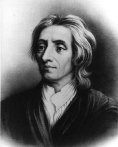 John Locke was geboren in 1632 in Oxford. Hij was een wetenschapper en hij was het niet eens met het idee dat vorsten een goddelijk recht hadden (Droit Divin). Volgens Locke hadden alle mensen gelijke rechten. De natuur gaf nooit de een meer recht dan de ander. De rechten die mensen van nature hadden noemde hij natuurrechten. Door Locke ging het volk met een kritischere blik naar de vorst kijken. Locke overleed in 1704
