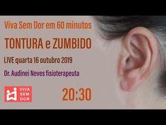Viva Sem Dor em 60 minutos - TONTURA e ZUMBIDO NO OUVIDO - YouTube Youtube, Vertigo, At Home Workouts, Living Alone, Physical Therapist, Youtubers, Youtube Movies
