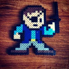The Governor The Walking Dead perler beads by bhartdesigns