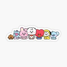 is an independent artist creating amazing designs for great products such as t-shirts, stickers, posters, and phone cases. Pop Stickers, Tumblr Stickers, Kawaii Stickers, Printable Stickers, Journal Stickers, Planner Stickers, Sticker Printer, Kpop Diy, Bts Aesthetic Pictures