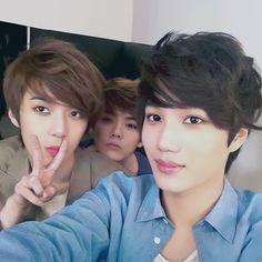 EXO Sehun, Luhan, Kai
