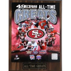San Francisco All Time Greats Framed With double black matting Ready To Hang- Awesome & Beautiful 49ers Fans, Nfl 49ers, Nfl Football, 49ers Players, Football Season, American Football, Ronnie Lott, Forty Niners, Lego