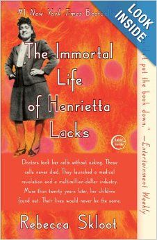 The Immortal Life of Henrietta Lacks by Rebecca Skloot.  I first encountered this book via an excerpt assigned to me as a senior in high school for my genetics class. The extent to which HeLa cells have been used on a global scale (and beyond as they went to space) is absolutely remarkable. The story behind HeLa cells is nothing short of remarkable. Every one should read this book at least once.