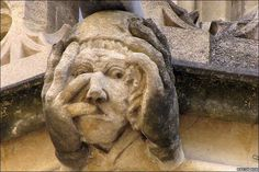 grotesque in Exeter College, Oxford