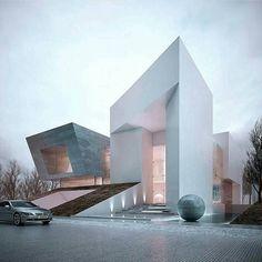Villa Jeddah Two designed by Creato Arquitectos. via- architecture, design