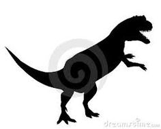 Resultado de imagen para siluetas de dinosaurios