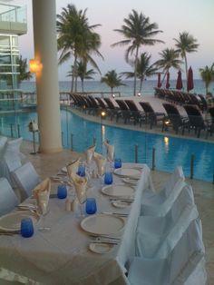 Host your rehearsal dinner at Sea Olive in #AzulFives. #destinationwedding