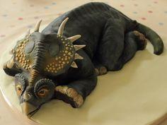 Dinosaur cake, all edible! www.sweetassugarcakes.co.uk