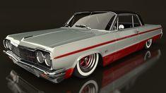 Custom 64' Impala #chevroletimpala1959 #chevroletimpala1964