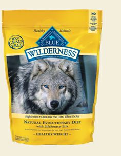BLUE Buffalo Wilderness - Natural Evolutionary Healthy Weight Chicken Diet for Dogs – Grain Free