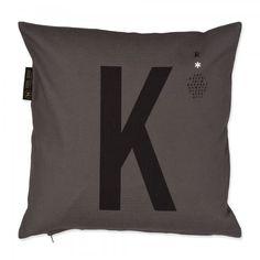 Design-Kissenbezug M Alphabet-30
