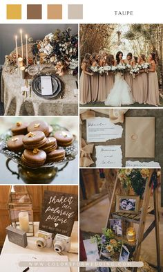 Top 10 Wedding Color Scheme Ideas for 2020 Wedding Goals, On Your Wedding Day, Wedding Planning, Wedding Trends, Wedding Ideas, Taupe Wedding, Summer Wedding Colors, Wedding Color Schemes, Got Married