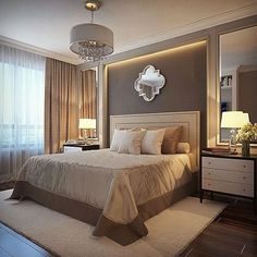 ideas for bedroom hotel style night stands Luxury Bedroom Design, Master Bedroom Design, Home Decor Bedroom, Modern Bedroom, Bedroom Designs, Bedroom Ideas, Master Bedrooms, Bedroom Bed, Interior Design