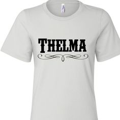 Thelma Tshirt. Thelma and Louise Shirts. Country tshirt. Miranda Lambert Carrie Underwood Somethin Bad. Best Friend Halloween Costume by SouthernCharme
