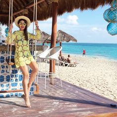 Today you are up to learn how to crochet Beach Day Cover-Up Tunic, which is funny to make and we hope you will enjoy making it and master easily. Beach Look, Beach Day, Summer Beach, Girl Beach, Mariah Bernardes, Beach Swing, Wherever You Go, Beach Video, Creative Kids Snacks