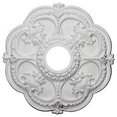 Ekena Millwork Rotherham 11.73-In X 11.73-In Polyurethane Ceiling Medallion Cmr12ro