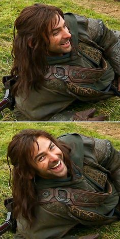Aidan Turner behind the Scenes of The Hobbit