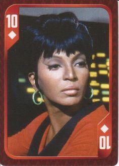 Star Trek - Uhura - 10 of Diamonds...