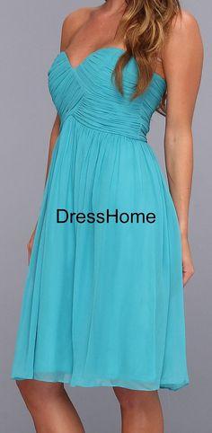 short bridesmaid dress,cheap bridesmaid dress,blue bridesmaid dress,prom dress,blue prom dress