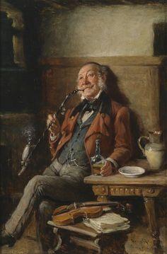 Smoking Musician by Kern