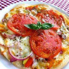 Tortilla pizza!!