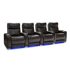 Ultimate comfort yet! The Seatcraft Solstice home theater seat features adjustable power lumbar to evenly support against the lower back natural curvature to reduce strain, improve comfort and relaxation. With the included power headrest, watch movies in maximum comfort by placing your head and... more details available at https://furniture.bestselleroutlets.com/game-recreation-room-furniture/tv-media-furniture/home-theater-seating/product-review-for-seatcraft-solstice-leathe