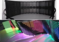 Light Weight Flex LED Display with DVI Control Mode, Displays Smooth and Clear Image Photos & Pictures