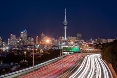 Super highway at night Aucklands state highway 1 Shelley beach road bridge is a great city spot to capture Westhaven Marina sky tower and the motorway. IAM@10stopphotography Nikon D810 | 70  200mm @70mm F11.0 30 second exposure. #IamNewZealand #NikonNZ #Nikon #Nikkor #NZ #NewZealand #Aotearoa #NewZealandGuide #NZmustdo #DestinationNZ #Awesome_Photographers #TravelNZ #TravelingourPlanet #Discover_NewZealand #EarthFever #WorldCaptures #TravelPhotooftheDay #Wow_Planet #BeautifulDestinations…
