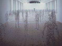 ghost in the machine - Sculptures byAntony Gormley