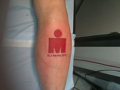 Ironman Tattoo | Slow Fat Triathlete