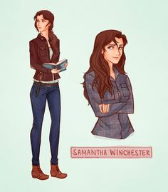 Rule 63 Supernatural: Female Dean, Sam and Castiel