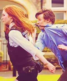Amy Pond: the real reason the Eleventh Doctor wears a bow tie. | 70(150) Doctor Who stills