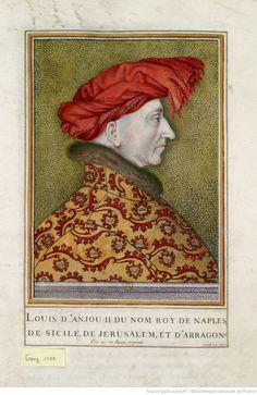 [ Naples, Duc D'anjou, Prince, Portrait, Cousins, Painting, Art, Sicily, Drawing Drawing