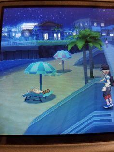 Hau'oli City where people tan during the night. [Pokemon Moon] (no spoilers) http://ift.tt/2g3BU3S