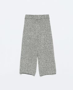 Image 8 of WIDE PRINTED CULOTTES from Zara