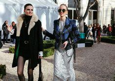 Katlin Aas and Sasha Luss Phil Oh Shoots The Best of Paris Street Style