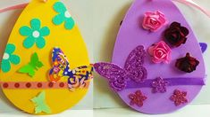 Húsvéti kreatív dekorációs ötletek.DIY dekorgumi tojás készítése házilag #húsvétidekoráció #húsvétitojás #húsvétiötletek #tojásdíszítés Diy, Women, Bricolage, Do It Yourself, Homemade, Diys, Crafting, Woman