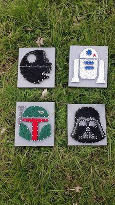 Star Wars Mini String Art 1 Star Wars Mini Star by BlossomsNKnots