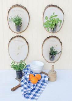 A Wooden Herb Garden of Love