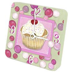 I pinned this Cupcake Tiny Times Clock from the Sweets for Your Sweet event at Joss and Main!